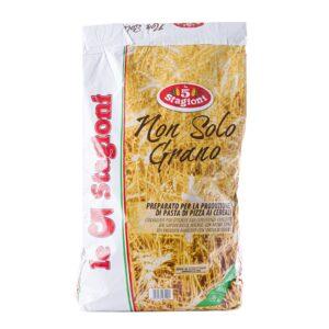 Farina non solo grano per impasti con misto cereali in ballino da kg.10, 5 Stagioni. Confezione: Kg.10.