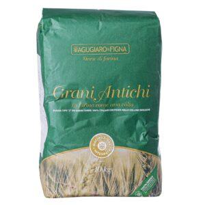 Farina (tipo 2) da grani italiani in ballino da kg.10, Agugiaro. Confezione: Kg.10.