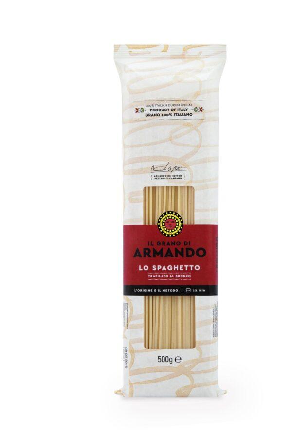 Spaghetti gr.500, Armando. Confezione: gr.500.