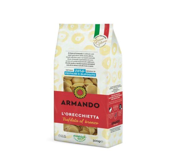 Orecchiette gr.500, Armando. Confezione: gr.500.