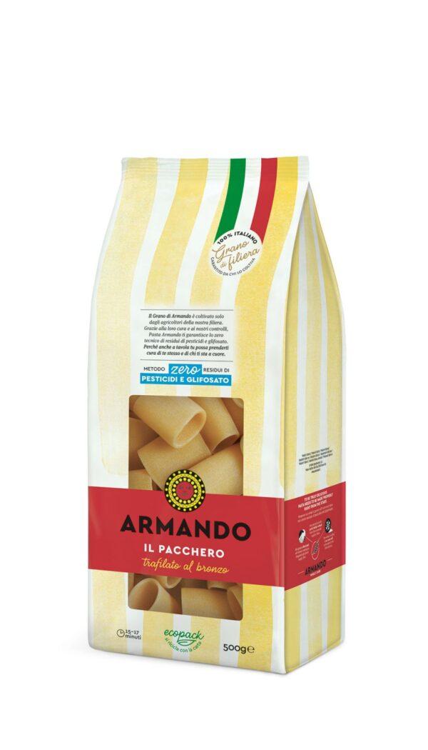 Paccheri gr.500, Armando. Confezione: gr.500.