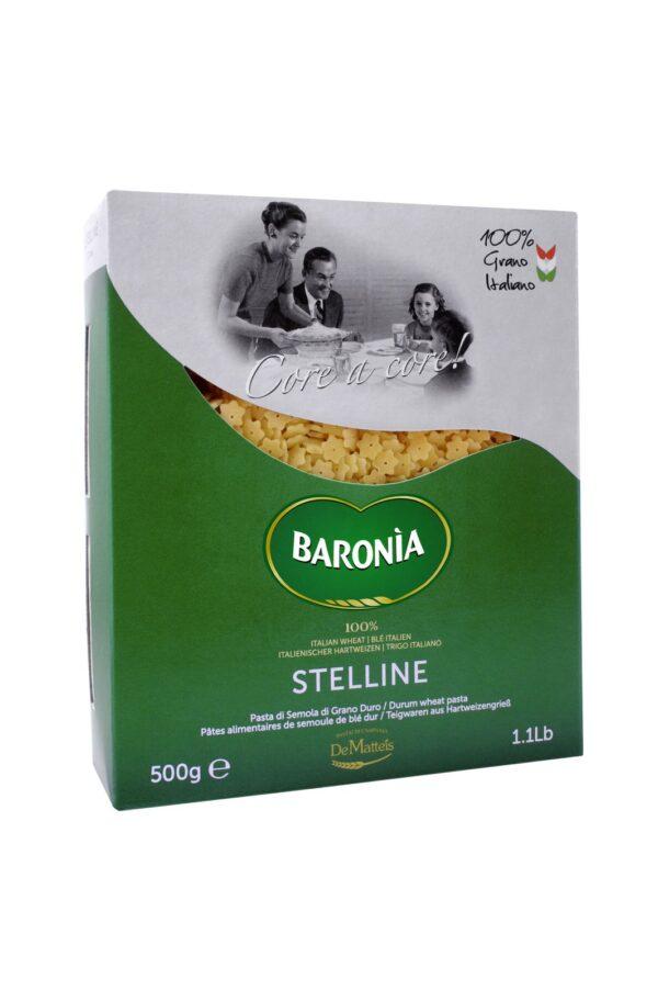 Stelline gr.500, Baronia. Confezione: gr.500.