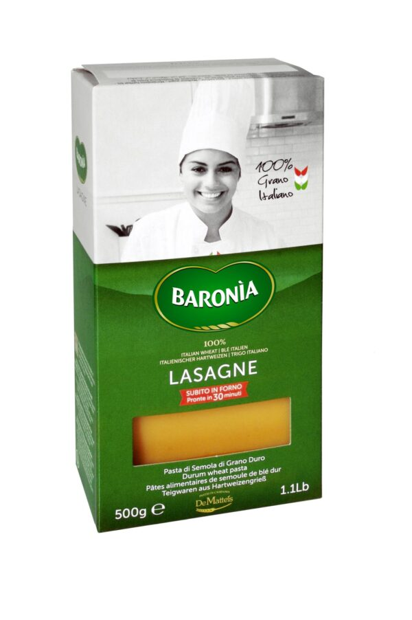 Lasagne gr.500, Baronia. Confezione: gr.500.