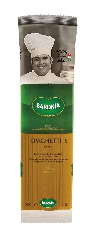 Spaghetti gr.500, Baronia. Confezione: gr.500.