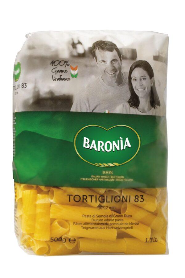Tortiglioni gr.500, Baronia. Confezione: gr.500.