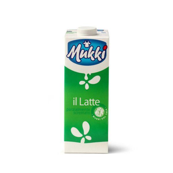 Latte parzialmente scremato UHT da Lt.1, Mukki. Confezione: Lt.1.