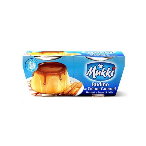 Budino crem caramel gr.110x2, Mukki. Confezione: gr.110x2