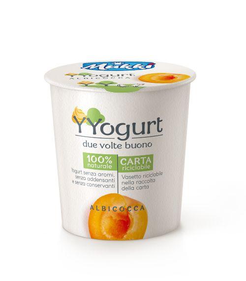 Yogurt 100% naturale all' albicocca gr.115, Mukki. Confezione: gr.115.