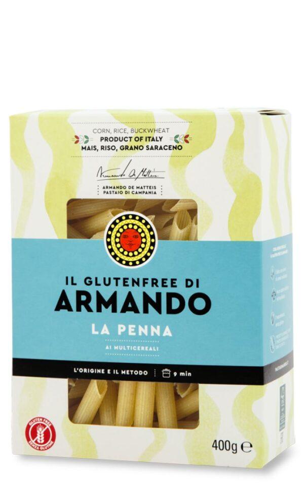 Penne senza glutine gr.400, Armando. Confezione: gr.400.