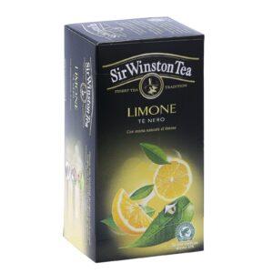 Tè al limone, Sir Winston Tea. Confezione: 20 filtri.