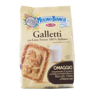 Biscotti Galletti gr.300, Mulino Bianco. Confezione: gr.300.
