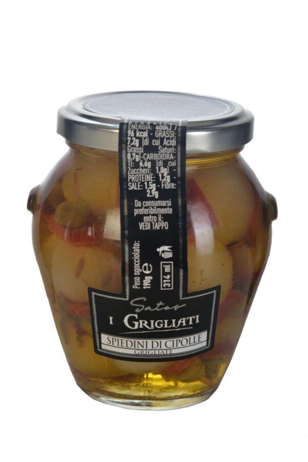 Spiedini di cipolle gr.290, Satos. Confezione: gr.290.