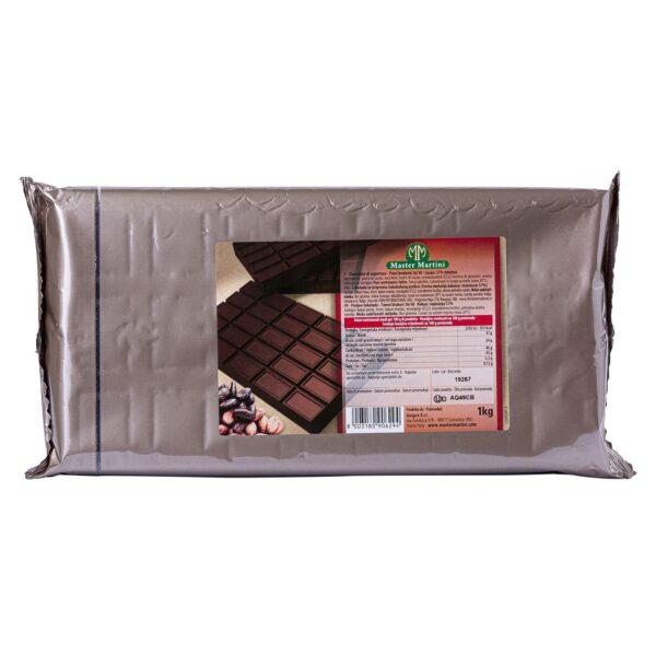 Cioccolato fondente 57% Kg.1, Master Martini. Confezione: Kg.1.